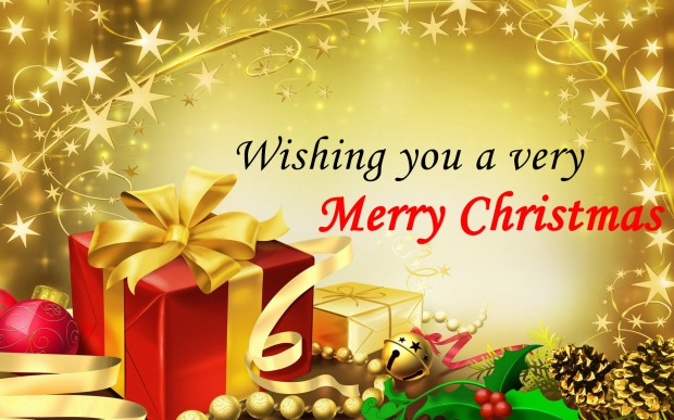 Greeting-Card-Saying-of-Merry-Christmas